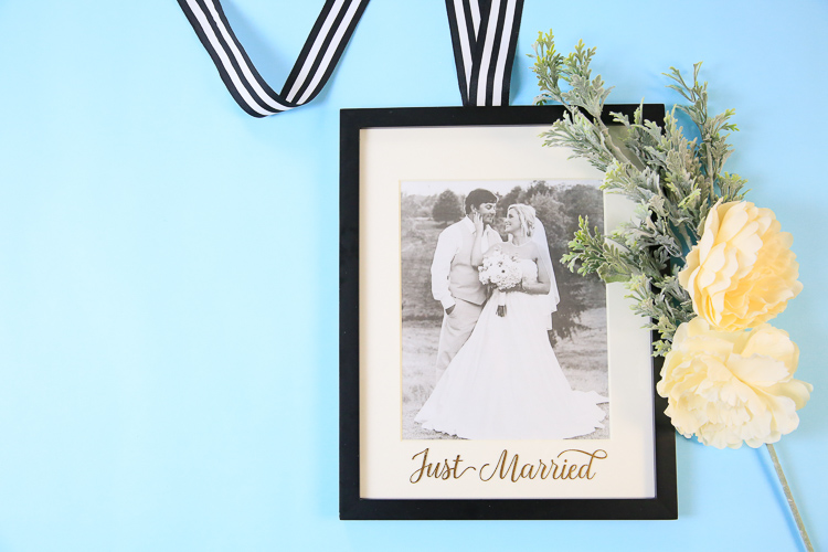 Wedding Keepsake Idea made with Cricut Explore Air 2 Martha Stewart Edition | Cricut wedding crafts with  Kim Byers at The Celebration Shoppe