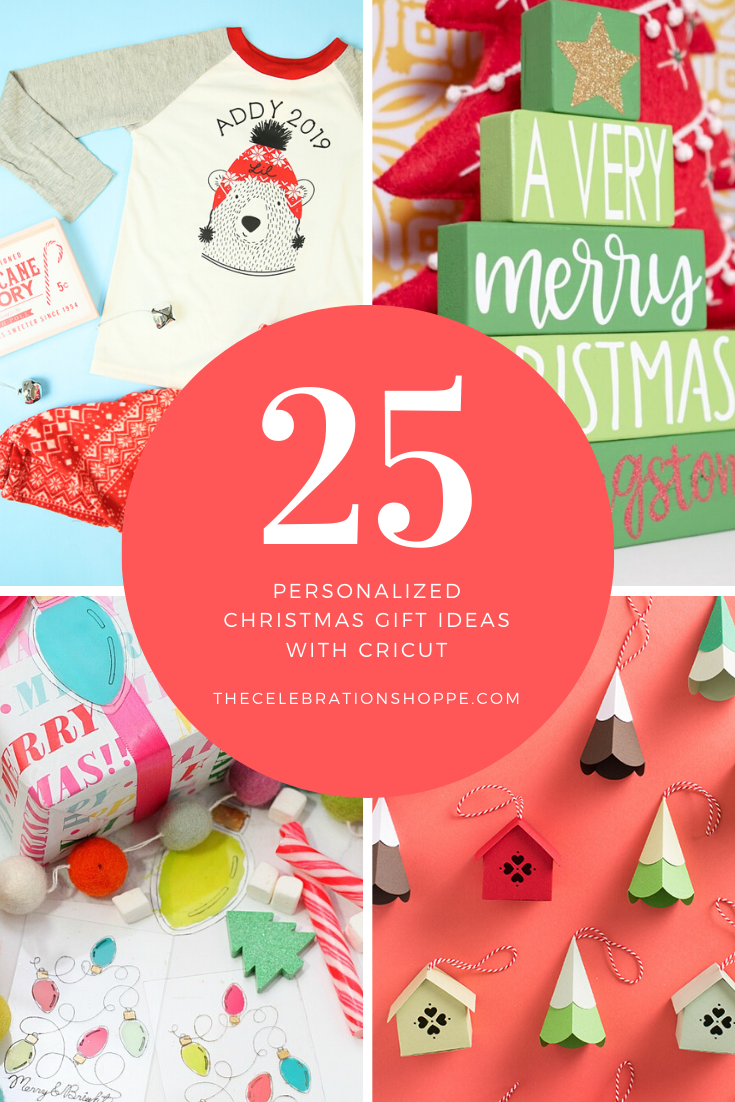 25 Personalized Cricut Christmas Gift Ideas