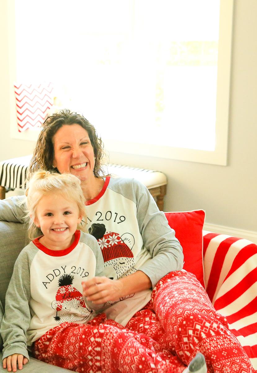 Family Christmas Pajamas Cricut Kim Byers