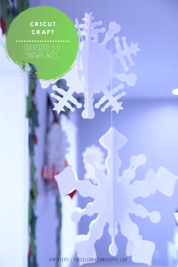 Oversized Christmas Snowflakes Kim Byers