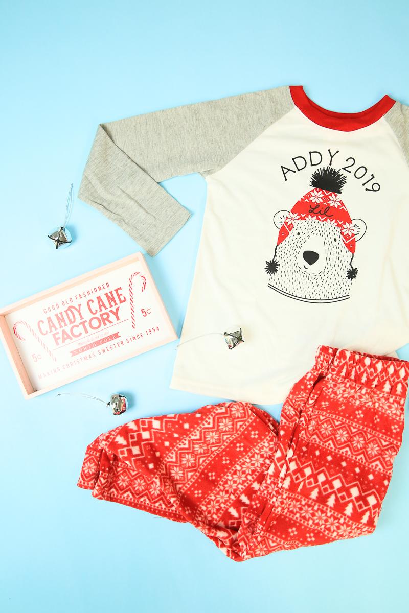 Personalized Christmas Pajamas Cricut Kim Byers