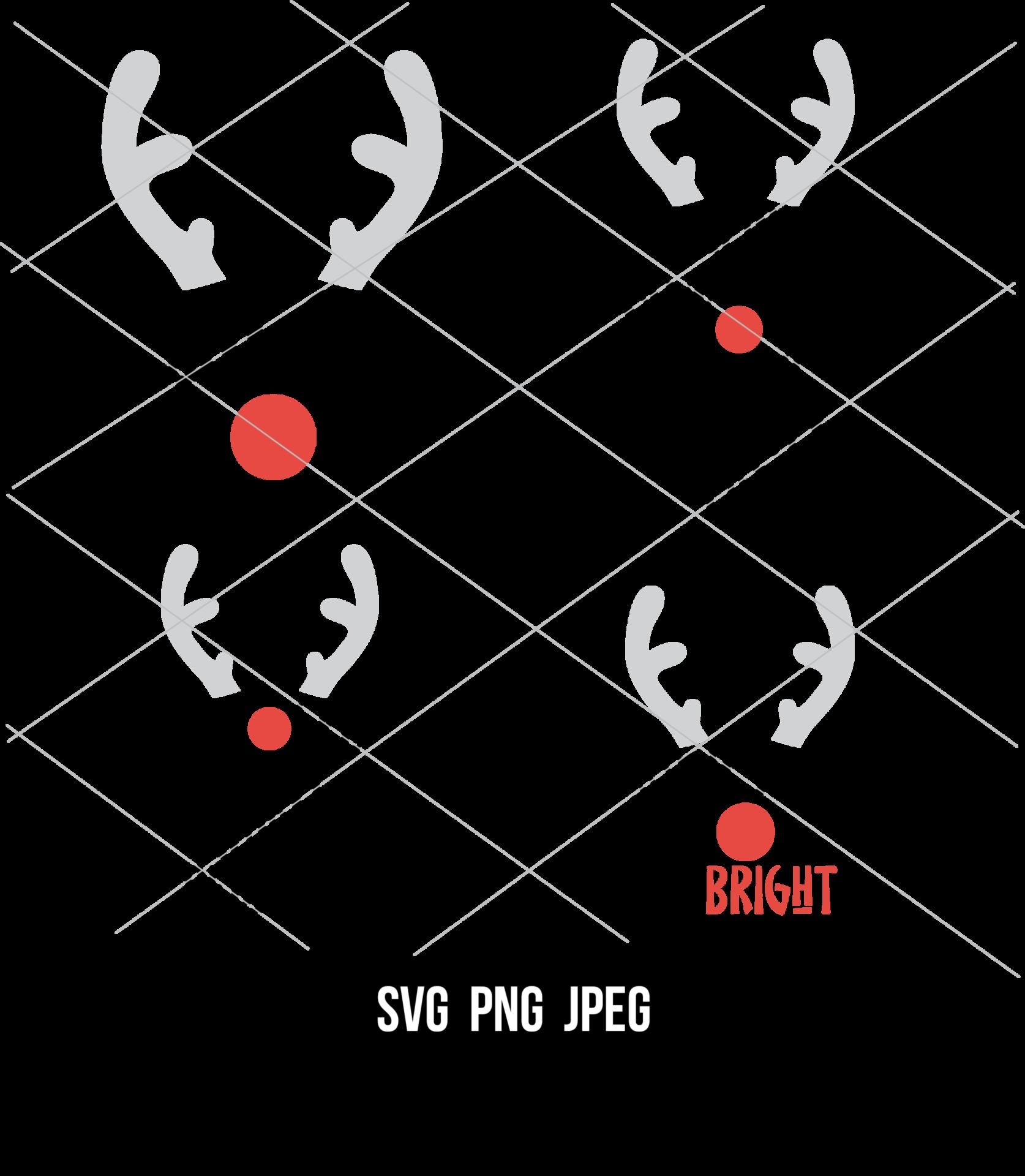 Reindeer SVG Bundle | Kim Byers