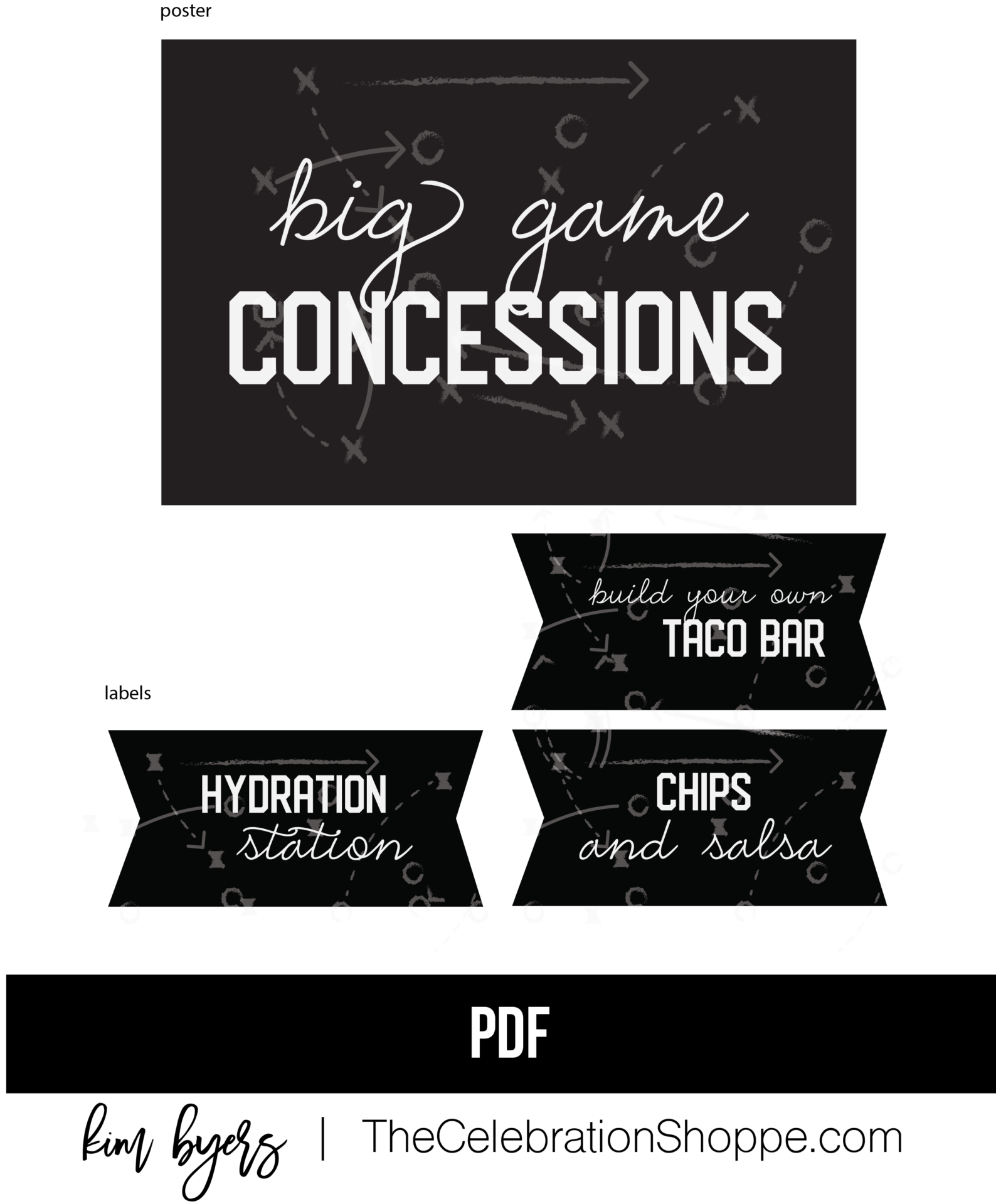 Big Game Concessions Kim Byers