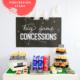 Concession Stand Setup