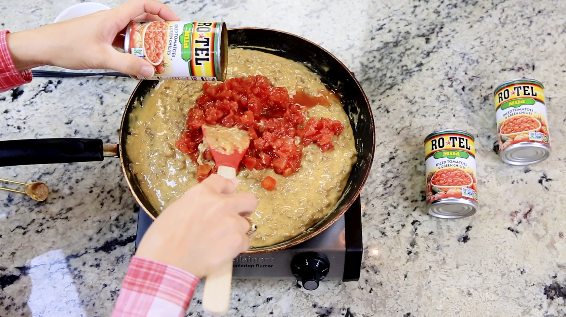 How To Make ROTEL Dip Step 4