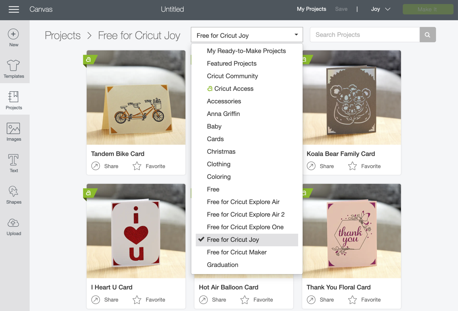 Cricut Design Space Free For Cricut Joy