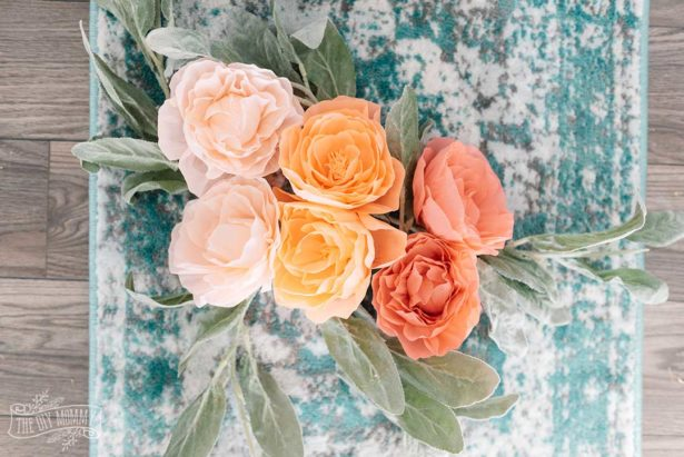 Crepe Paper Peonies With Cricut Maker
