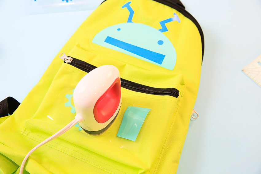 Cricut Robot Backpack 2