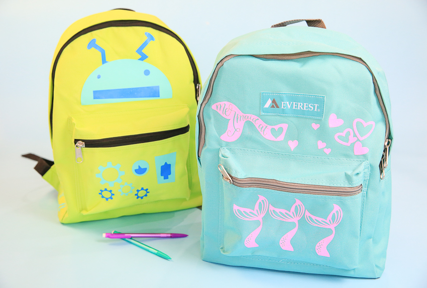 Decorated Backpacks 2