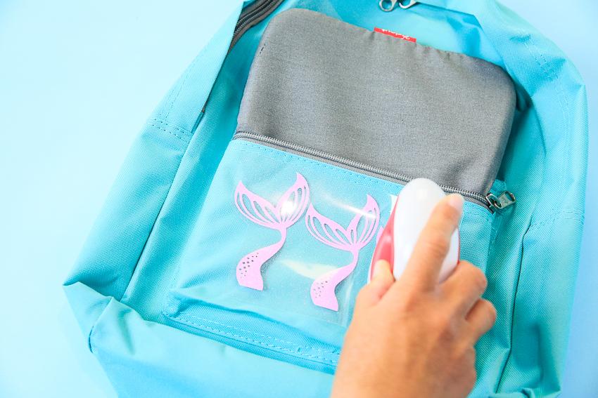 Diy Mermaid Tail Backpacks Iron On 2