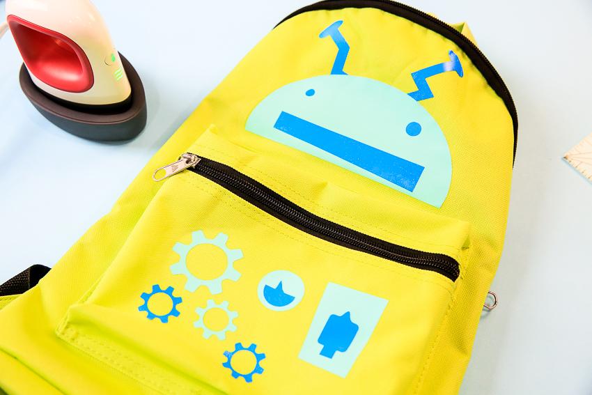 Diy Robot Kid Backpack 2