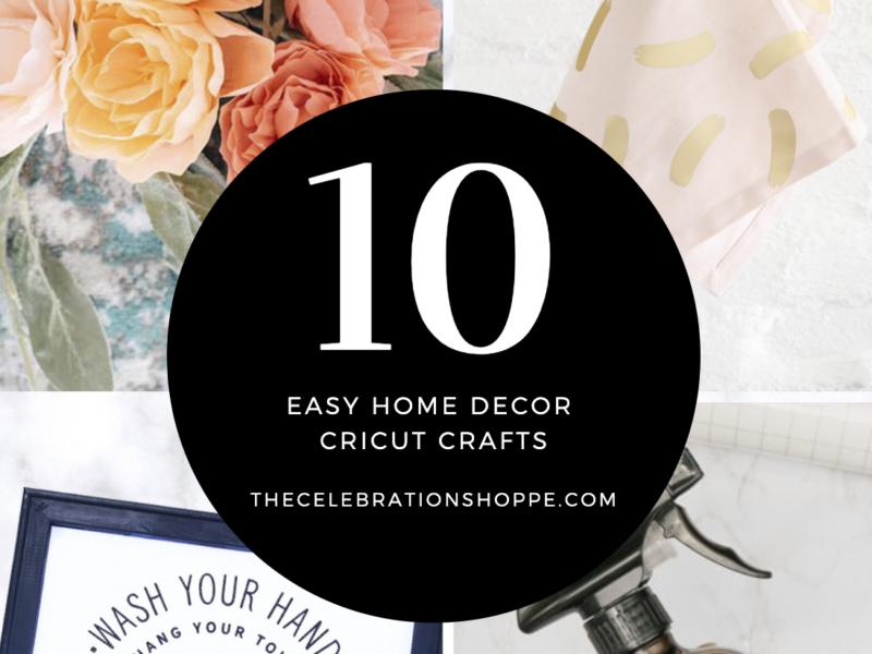 Easy Home Decor Crafts Cricut