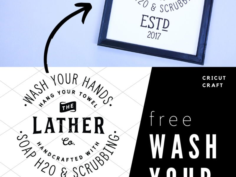 Free Wash Your Hands Art